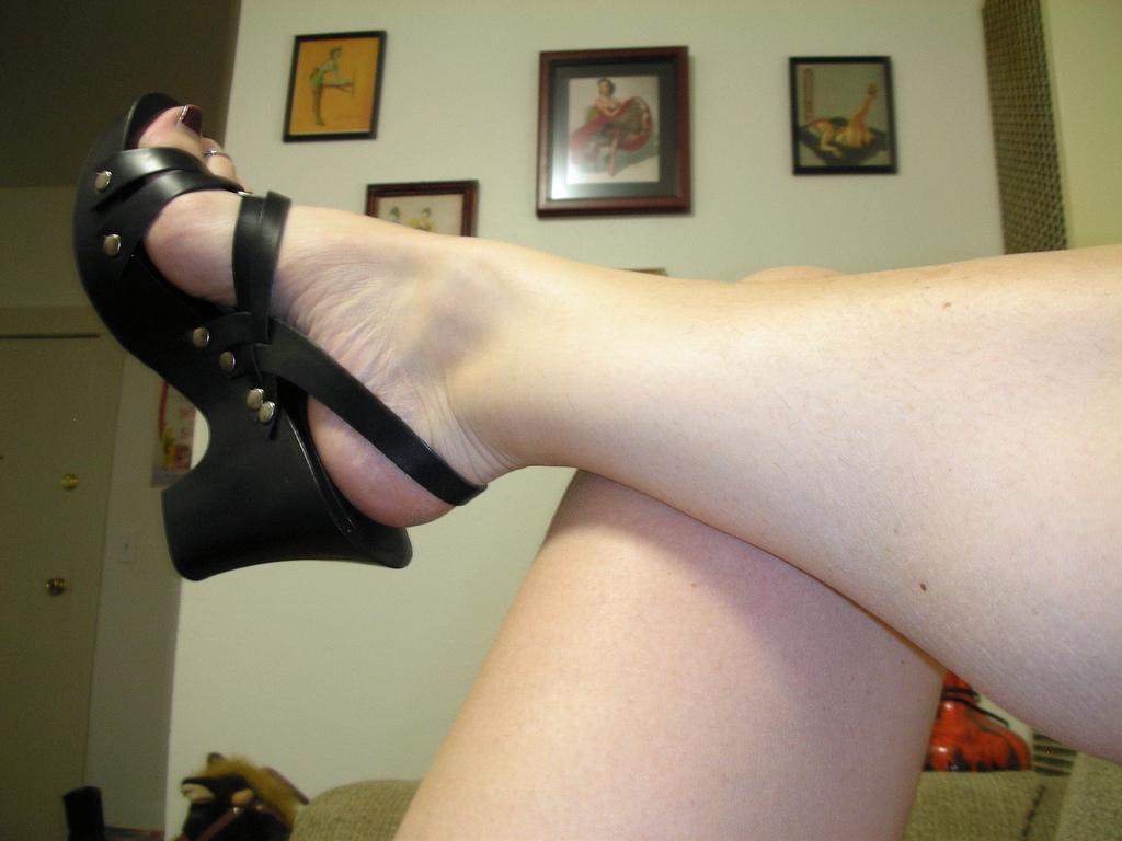 Mature Bbw High Heels